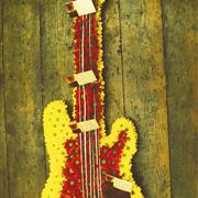 Guitar Flower Arrangement